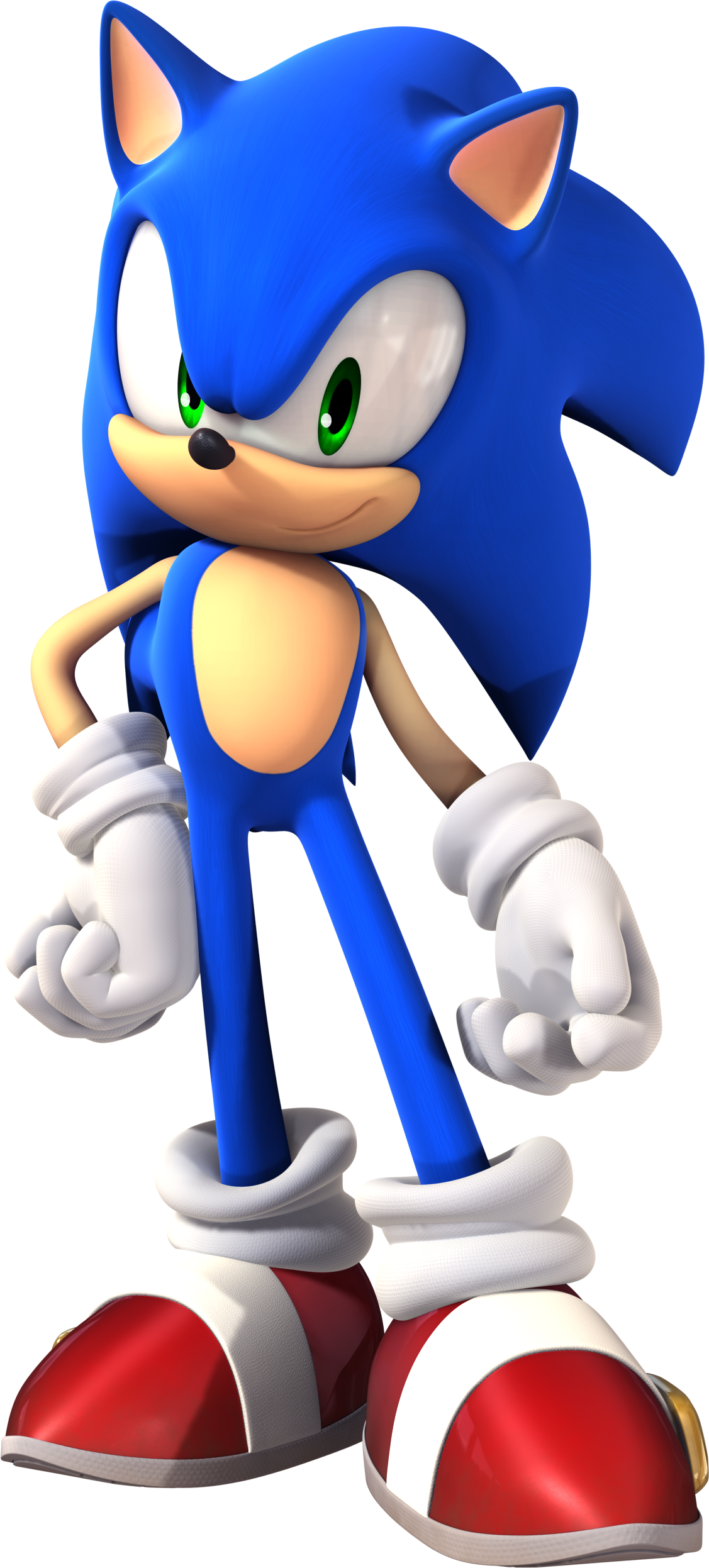 It is a graphic of Canny Images of Sonic